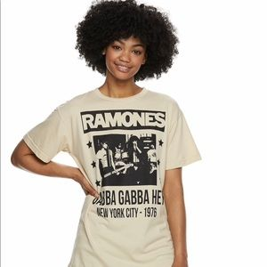 Brand New NYC Ramones Rock Tee! Super cute!